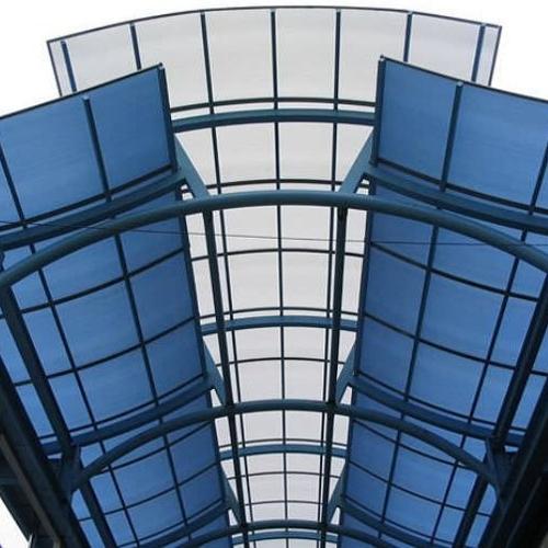 Plexiglass dans l'architecture et la construction